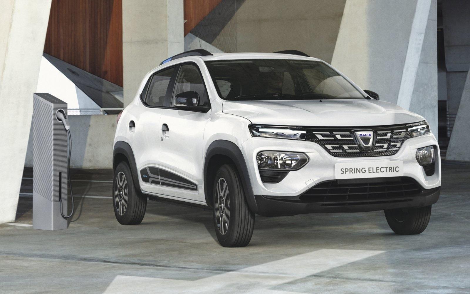 De goedkope elektrische auto van Dacia