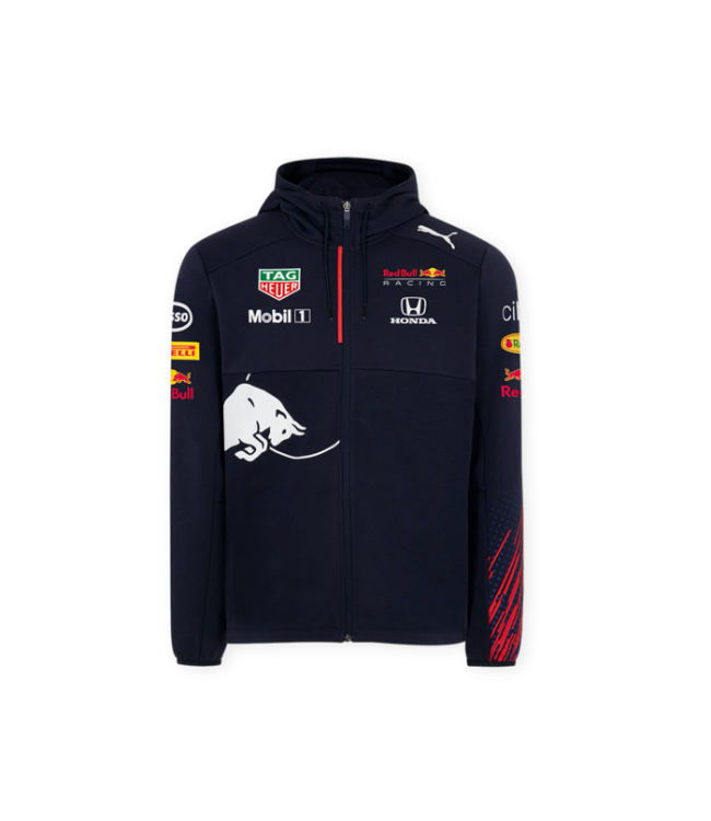 Red Bull Racing Team Hooded Sweat Jacket Kids Collectie 2021