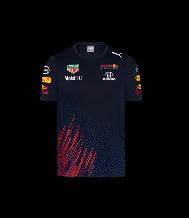 Red Bull Racing Team T Shirt Kinderen Collectie 2021