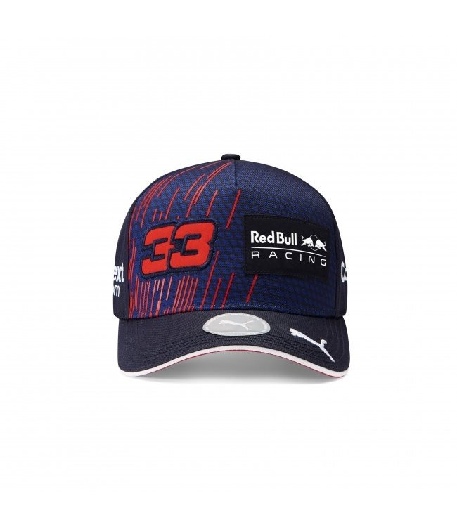 """Red Bull Racing Driver Baseball Cap """"Max 33"""" Adult - Collection 2021"""
