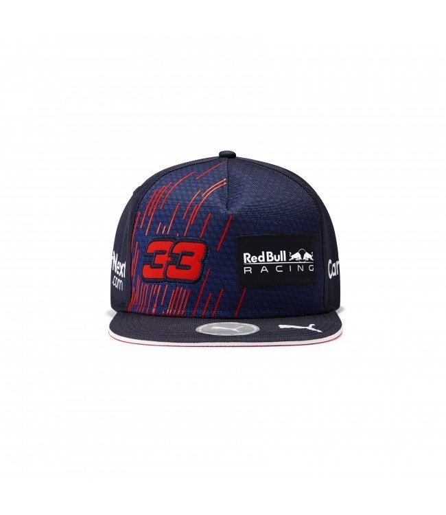"Red Bull Racing Driver Flatbrim Cap ""Max 33"" Adult - Collection 2021"