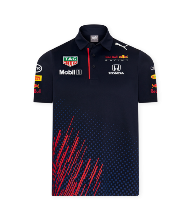 Red Bull Racing 2021 Team Polo Heren