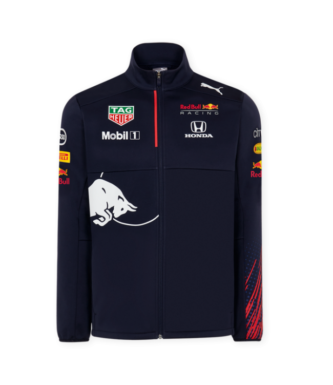 Red Bull Racing 2021 Team Softshell Jacket Heren