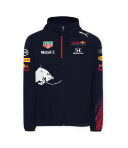 Red Bull Racing 2021 Team Hooded Sweat Jacket Men