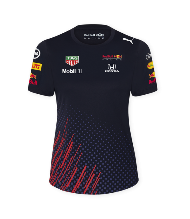 Red Bull Racing Team T Shirt Woman - Collection 2021