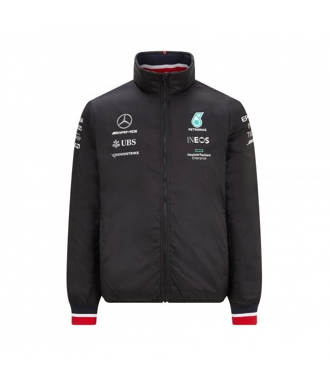 Mercedes AMG Petronas F1 Team Padded Jacket Adult - Collection 2021