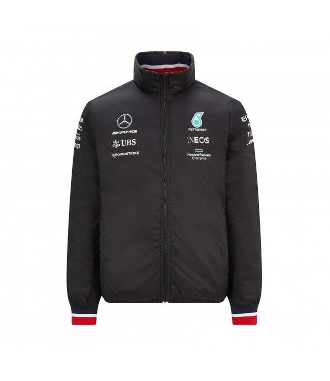 Mercedes AMG Petronas F1 Team Padded Jacket Adult Collectie 2021