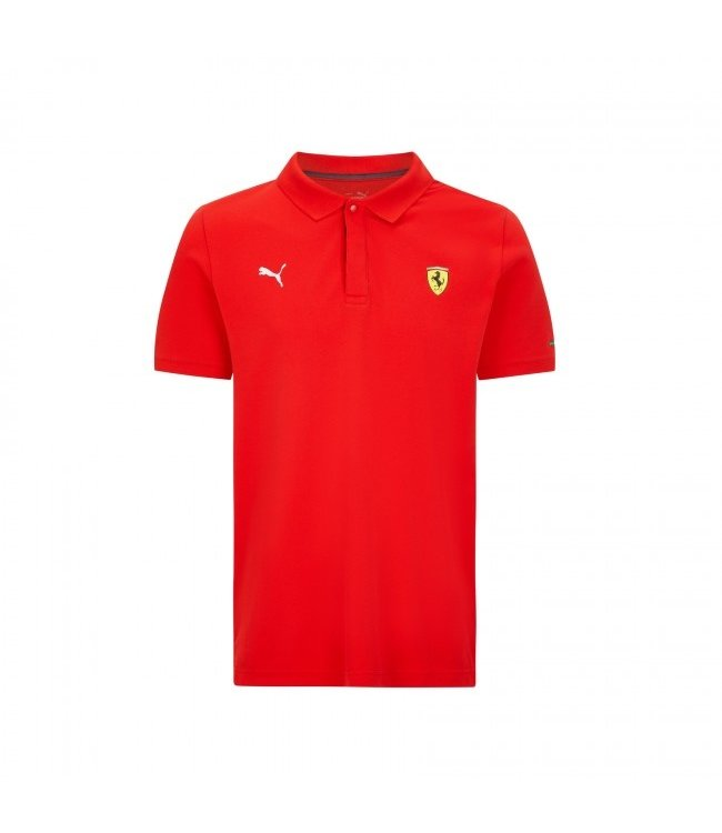 Ferrari F1 Classic Polo Red Adult - Collection 2021