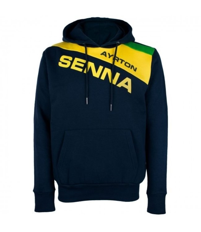 Ayrton Senna Racing Hoody Adult Fan Collection