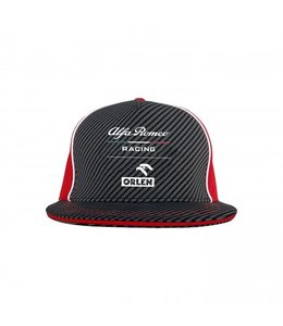Alfa Romeo Formula 1 2021 Adult Team Flat Brim Cap