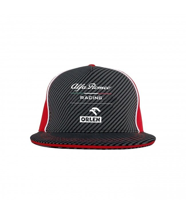 Alfa Romeo Formula 1 Team Flat Brim Cap Adult - Collection 2021