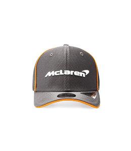 McLaren Mercedes F1 2021 Adult Team Baseball Cap Anthracite Black