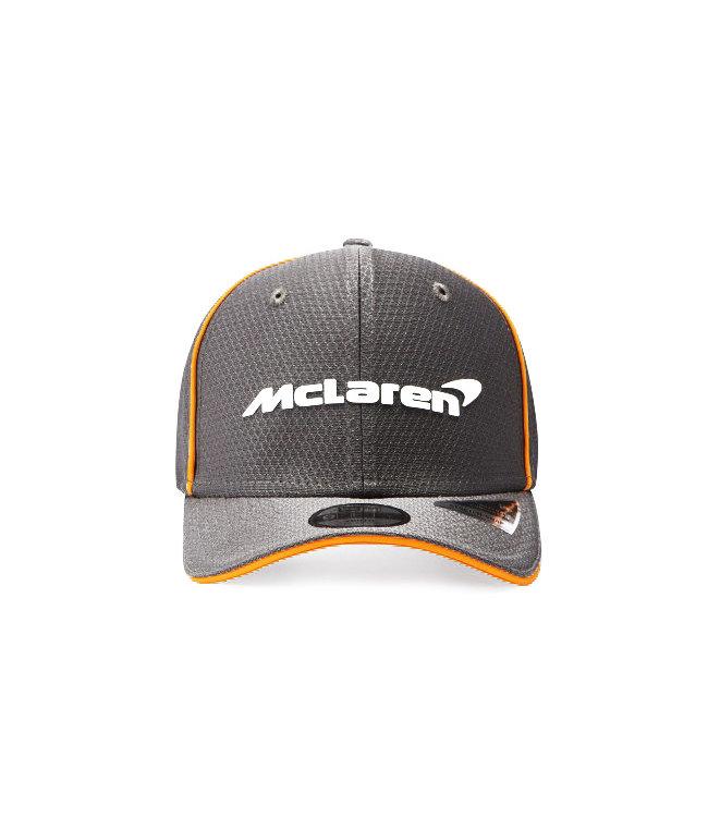 McLaren Mercedes F1 2021 Adult Team Baseball Cap Anthracite Black - Collection 2021