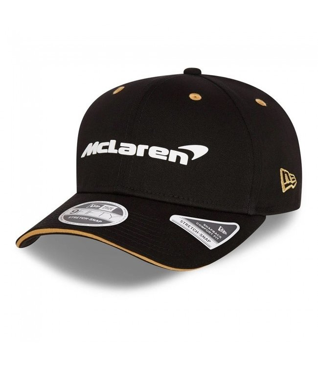 "McLaren Mercedes F1 2021 Adult Team Baseball Cap ""Monaco"" Edition Black - Collection 2021"