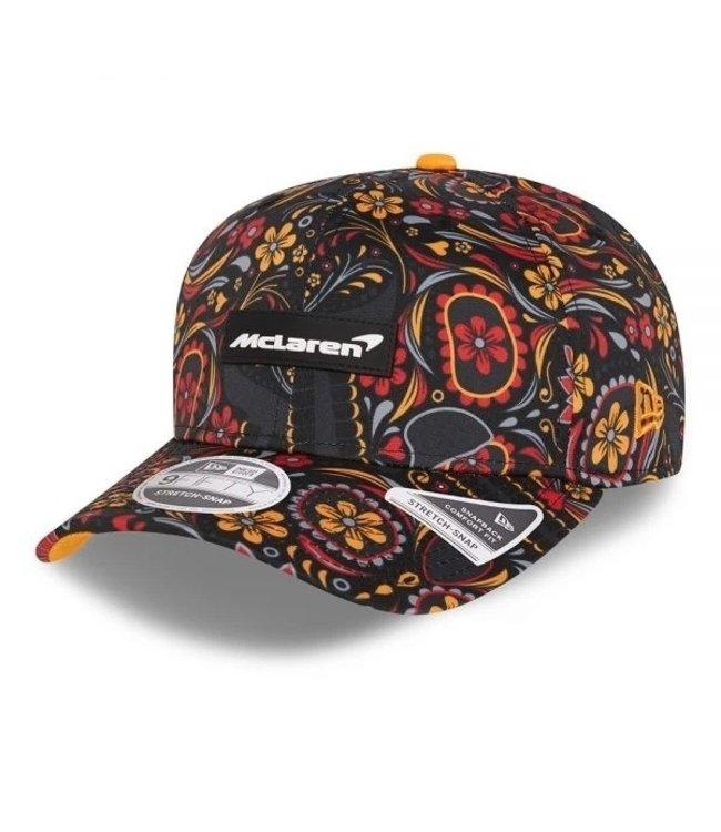 "McLaren Mercedes F1 2021 Adult Team Baseball Cap ""Mexico"" Edition - Collection 2021"