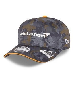 """McLaren Mercedes F1 2021 Adult Team Baseball Cap """"World Tour"""" Edition"""