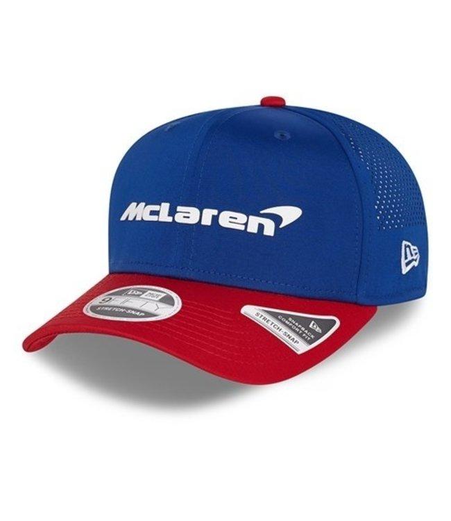 "McLaren Mercedes F1 2021 Adult Team Baseball Cap ""USA"" Edition - Collection 2021"