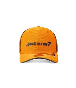 McLaren Mercedes F1 2021 Kids Team Baseball Cap Papaya Orange