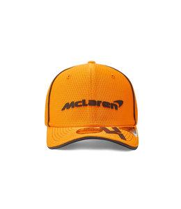 McLaren Mercedes F1 2021 Kids Driver Baseball Cap Lando Norris Papaya Orange
