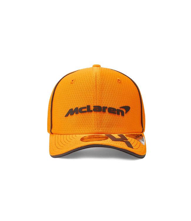 McLaren Mercedes F1 2021 Kids Driver Baseball Cap Lando Norris Papaya Orange - Collection 2021