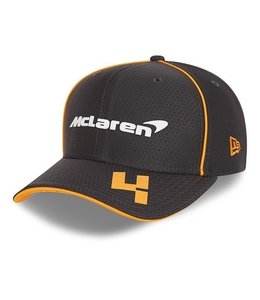 McLaren Mercedes F1 2021 Adult Driver Baseball Cap Lando Norris Anthracite Black