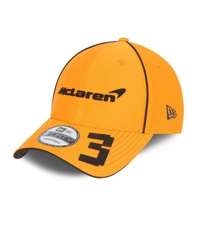 McLaren Mercedes F1 2021 Kids Driver Baseball Cap Daniel Ricciardo Papaya Orange - Collection 2021