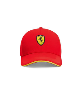 Ferrari F1 2021 Team Scuderia Ferrari Tech Cap Red Adult