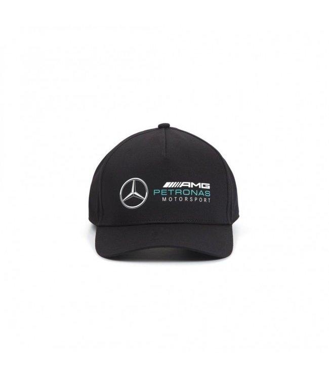 Mercedes AMG Petronas F1 Racer Baseball Cap Black Adult - Collection 2020
