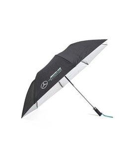 Mercedes AMG Petronas F1 2021 Compact Umbrella Black Adult