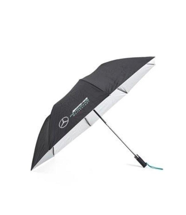 Mercedes AMG Petronas F1 Compact Umbrella Black Adult - Collection 2021