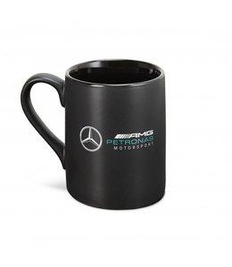 Mercedes AMG Petronas F1 2021 Team Logo Mug Black
