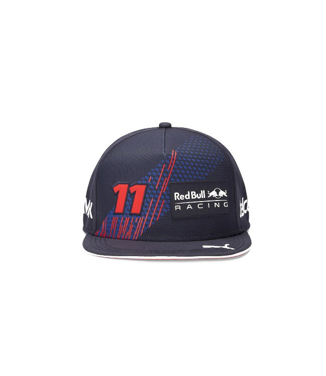 """Red Bull Racing Driver Flat Brim Cap """"Sergio Perez 11"""" Adult - Collection 2021"""