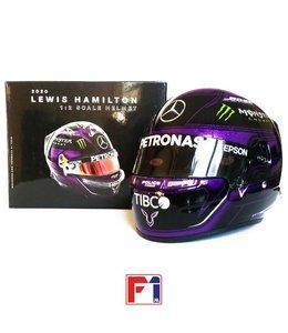 Mercedes AMG Petronas F1 2020 1:2 Scale Bell Helmet Lewis Hamilton BLM Edition