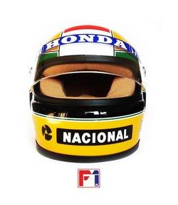 Ayrton Senna Honda Marlboro McLaren Helmet 1988 World Champion