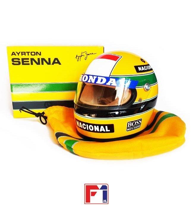 Ayrton Senna McLaren Honda Helmet 1988 World Champion Scale 1:2