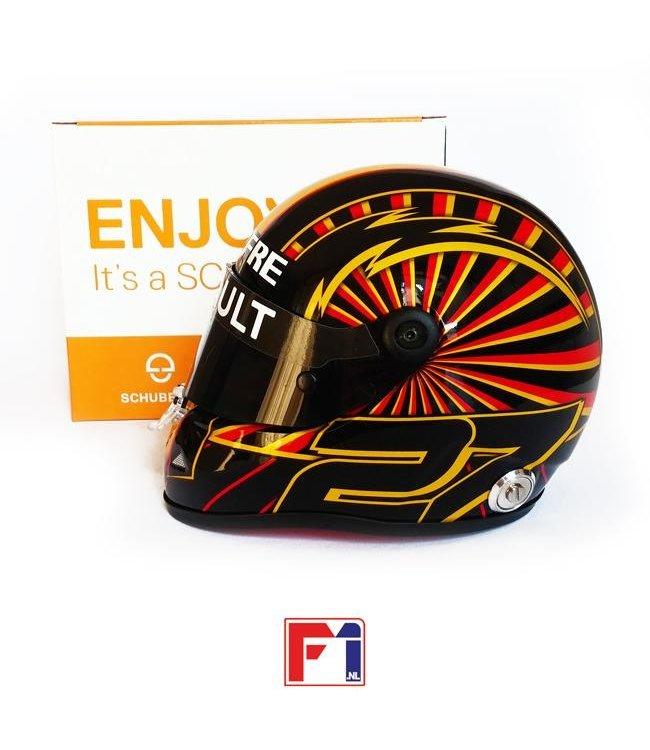 Renault F1 Team Nico Hülkenberg 2019 GP Germany Helmet Scale 1:2