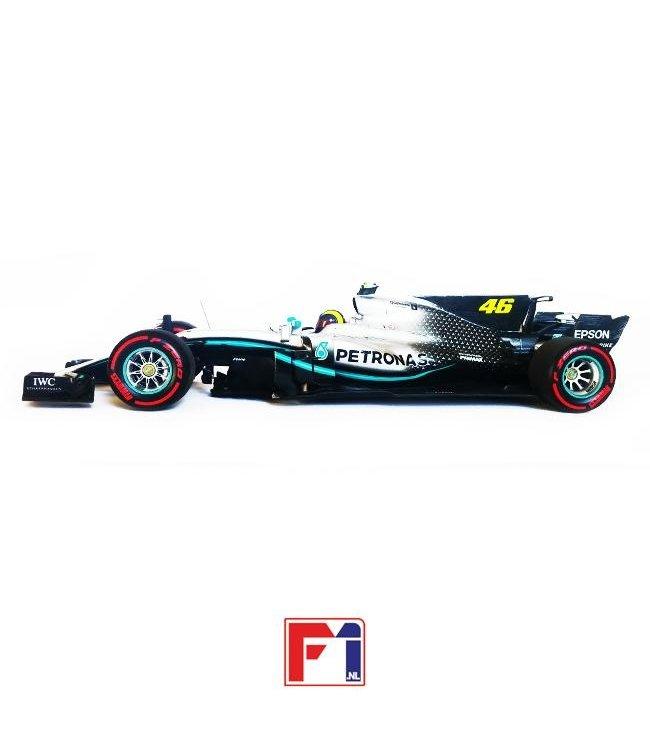 Mercedes AMG Petronas Motorsport F1 WO8 EQ Power+ 2019 Ride Swap Valentino Rossi