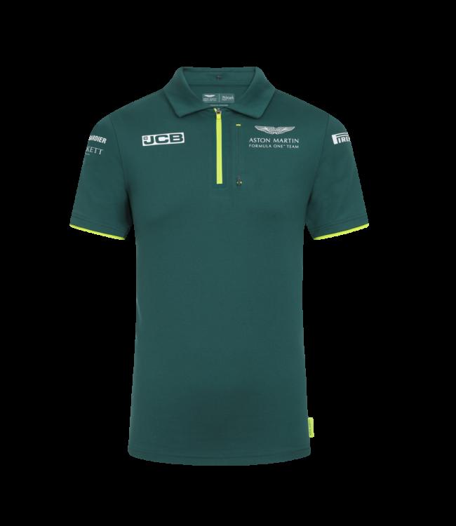 Aston Martin Cognizant F1 Team Team Polo Green Adult - Collection 2021