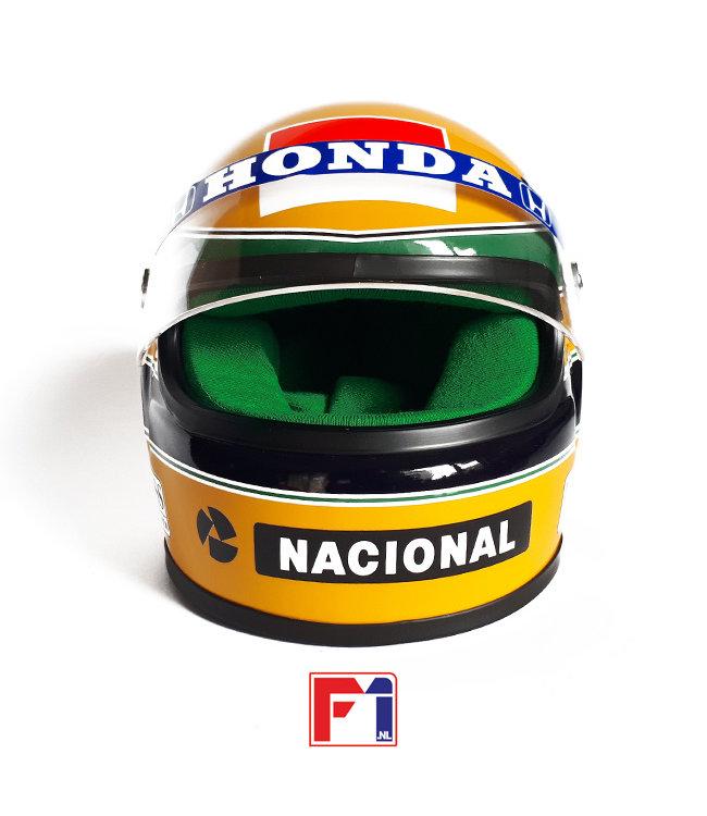 Ayrton Senna Honda Marlboro McLaren Helmet 1990 World Champion  Scale 1:2