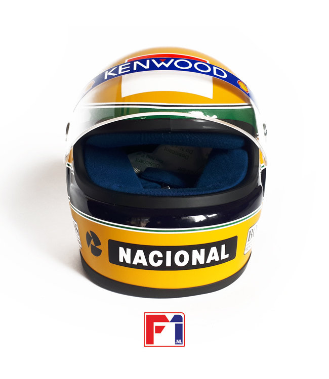 Ayrton Senna Marlboro McLaren Helmet 1993  Scale 1:2