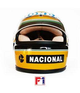 Ayrton Senna Camel Team Lotus Honda Helmet 1987