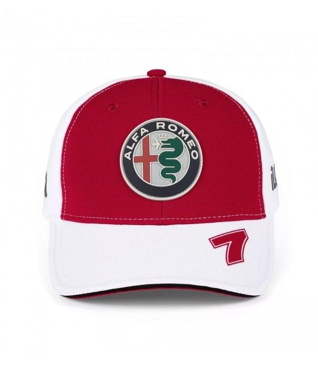 Alfa Romeo Formula 1 Kimi Raikkonen Driver Baseball Cap Adult - Collection 2021