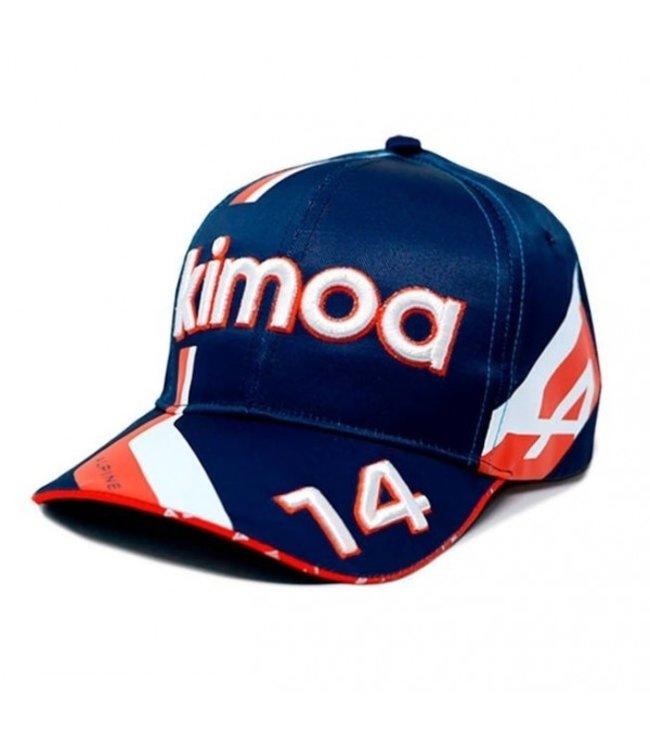 Alpine F1 Team Fernando Alonso 2021 Driver Baseball Cap Adult - Collection 2021