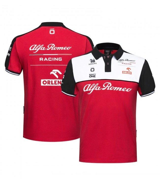 Alfa Romeo Formula 1 Team Polo Adult - Collection 2021