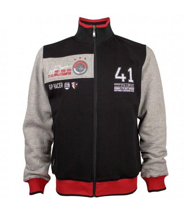 Ayrton Senna 41 Victories Sweat Jacket Adult - Senna Foundation Collection