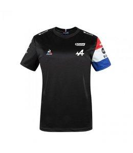 Alpine F1 Team 2021 Adult Garage Tee Black