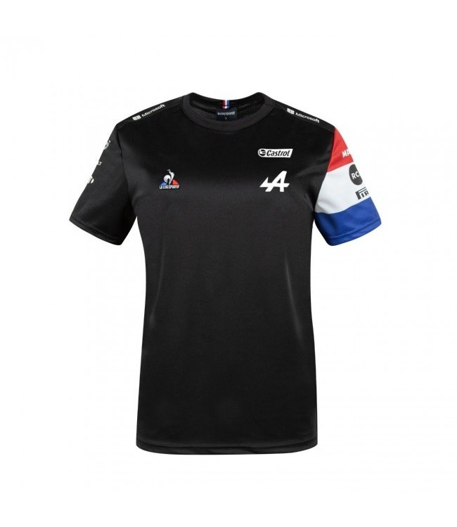 Alpine F1 Team 2021 Garage Tee Black Adult - Collection 2021