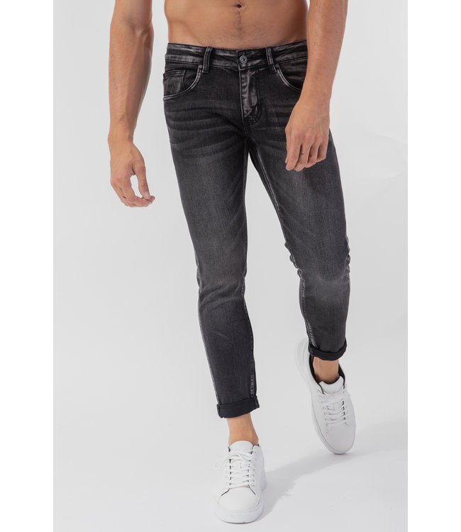 JEANS - FADED GREY
