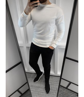 SWEATER BASIC - WHITE