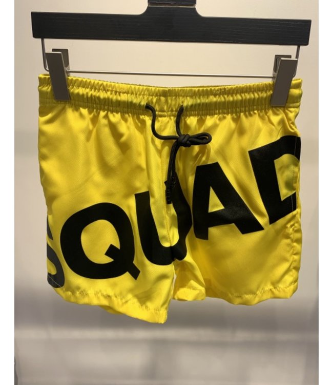 SWIMSHORTS SQUAD - YELLOW